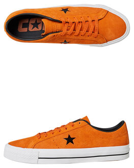ORANGE BLACK MENS FOOTWEAR CONVERSE SNEAKERS - SS162513ORAM