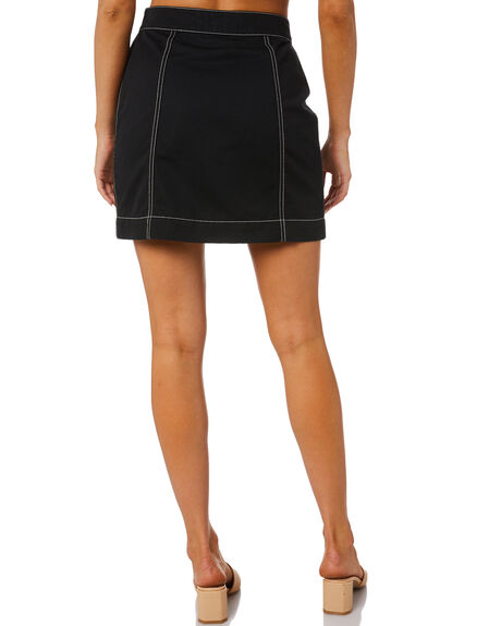 BLACK WOMENS CLOTHING MINKPINK SKIRTS - MP2008440BLK
