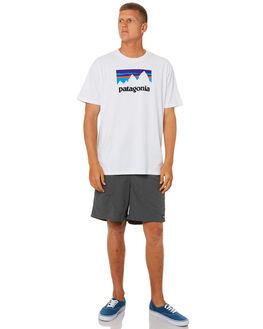 WHITE MENS CLOTHING PATAGONIA TEES - 39175WHI