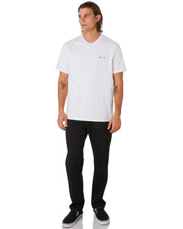 WHITE MENS CLOTHING BARNEY COOLS TEES - 150-CC1WHITE