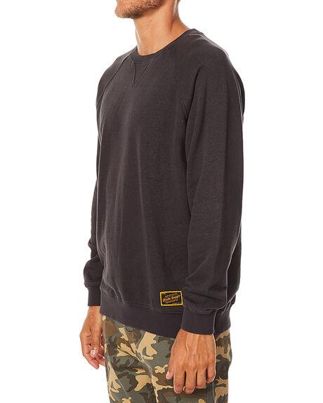 FADED BLACK MENS CLOTHING AFENDS JUMPERS - 06-03-068FBLK
