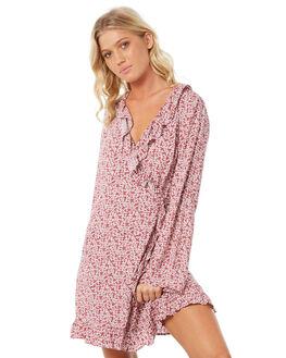 MINI FLORAL PRINT WOMENS CLOTHING ELWOOD DRESSES - W83720-4JS