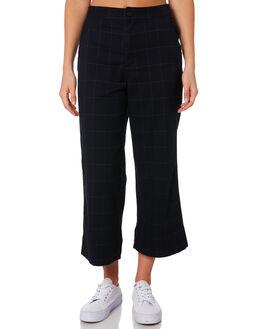 MIDNIGHT PLAID WOMENS CLOTHING COOLS CLUB PANTS - 705-CW2PLAID