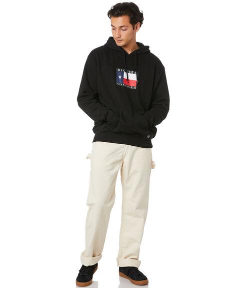 BLACK MENS CLOTHING DICKIES JUMPERS - K1200508BK