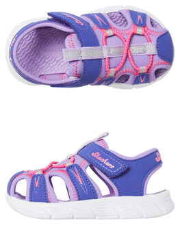 PURPLE KIDS TODDLER GIRLS SKECHERS FOOTWEAR - 86939NPRLV