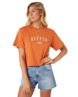 ORANGE WOMENS CLOTHING HUFFER TEES - WTE91S72-342ORA