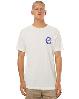 WHITE OUTLET MENS KATIN TEES - KNWANH16WHT