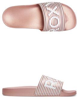 ROSE SHADOW WOMENS FOOTWEAR ROXY SLIDES - ARJL100679-RSD
