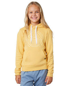 LIGHT YELLOW KIDS GIRLS RIP CURL JUMPERS + JACKETS - JFEBP14094