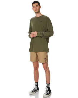 TANNIN MENS CLOTHING STUSSY BOARDSHORTS - ST071606TAN