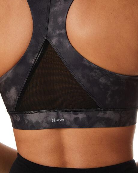 BLACK TIE DYE WOMENS CLOTHING HURLEY ACTIVEWEAR - 3HWKT0264BLKTD