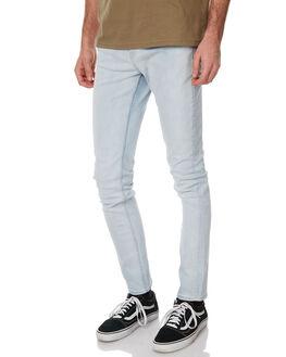 PALE BLUE MENS CLOTHING CHEAP MONDAY JEANS - 0433707PALBL