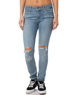 WORN AND TORN WOMENS CLOTHING LEVI'S JEANS - 18882-0102WTN