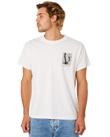 VINTAGE WHITE MENS CLOTHING NEUW TEES - 335896