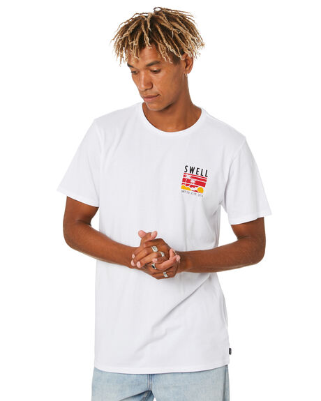 WHITE MENS CLOTHING SWELL TEES - S5204004WHITE