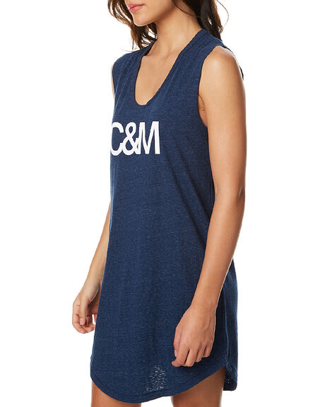 NAVY WOMENS CLOTHING CAMILLA AND MARC DRESSES - OCMD6625NAVY
