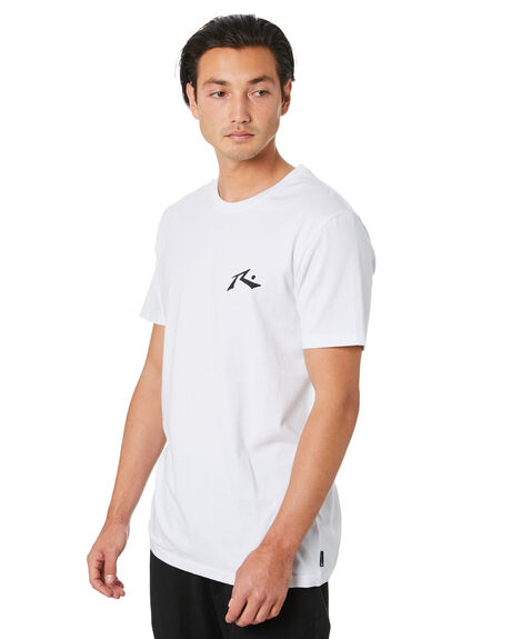 WHITE MENS CLOTHING RUSTY TEES - TTM2333WHT