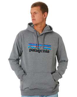GRAVEL HEATHER MENS CLOTHING PATAGONIA JUMPERS - 39539GLH