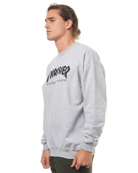 GREY MENS CLOTHING THRASHER JUMPERS - 20265023GREY