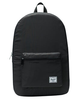 BLACK MENS ACCESSORIES HERSCHEL SUPPLY CO BAGS + BACKPACKS - 10614-01409-OSBLK