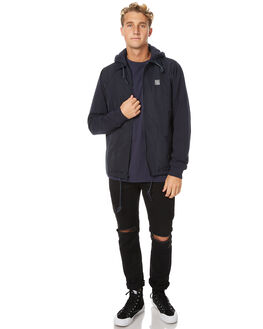 NEW NAVY MENS CLOTHING RVCA JACKETS - R171432NNVY