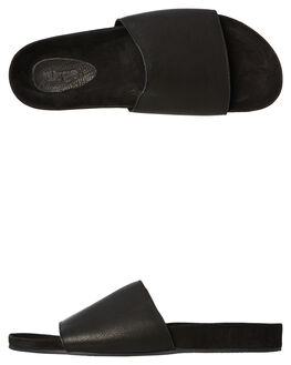 BLACK MENS FOOTWEAR URGE SLIDES - URG17079BLK