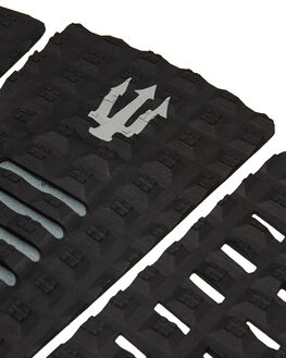 BLACK GREY BOARDSPORTS SURF FAR KING TAILPADS - 1218BLKGR