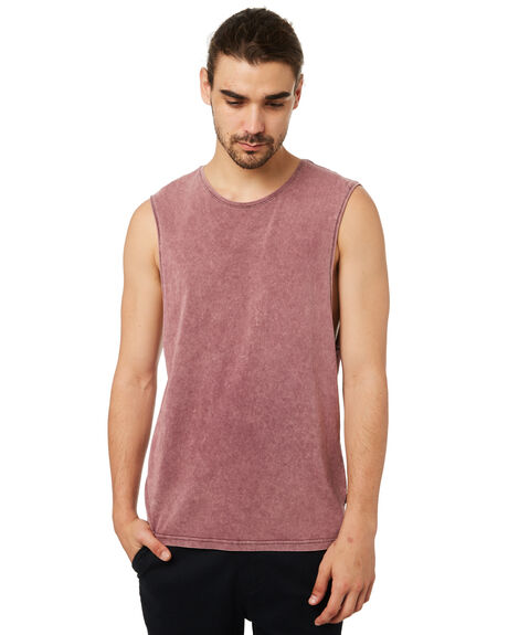 PORT MENS CLOTHING SILENT THEORY SINGLETS - 4001003PORT