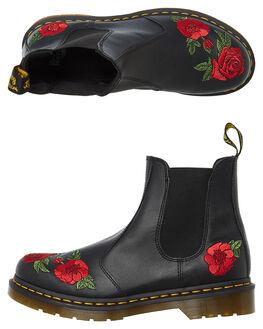 BLACK SOFTY WOMENS FOOTWEAR DR. MARTENS BOOTS - SS24725001BLKW