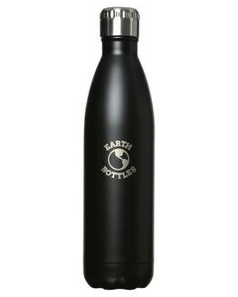 MATTE BLACK MENS ACCESSORIES EARTH BOTTLES DRINKWARE - EB750MBLK