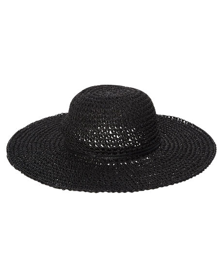 BLACK WOMENS ACCESSORIES BILLABONG HEADWEAR - 6681311BBLK
