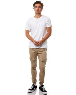 OXFORD TAN MENS CLOTHING NENA AND PASADENA PANTS - NPMFP004OTAN