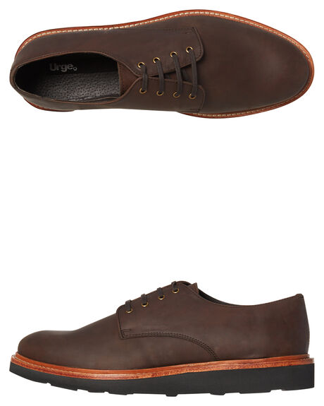 MOCHA MENS FOOTWEAR URGE FASHION SHOES - URG16172-MOCHA