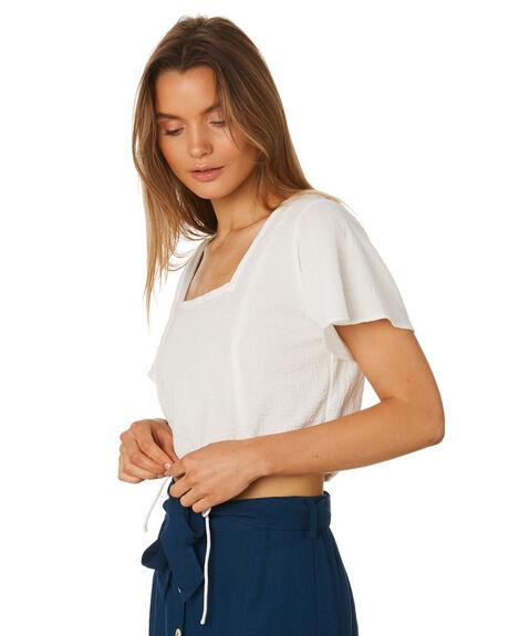WHITE WOMENS CLOTHING RUE STIIC FASHION TOPS - SA19-36-W1