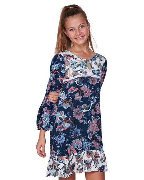 NAVY KIDS GIRLS BILLABONG DRESSES + PLAYSUITS - BB-5507472-NVY