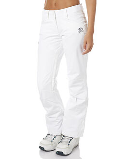 OPTICAL WHITE SNOW OUTERWEAR RIP CURL PANTS - SGPAW43262