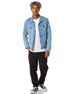 PRIDE STONEWASH MENS CLOTHING LEVI'S JACKETS - 72334-0490PRDSW