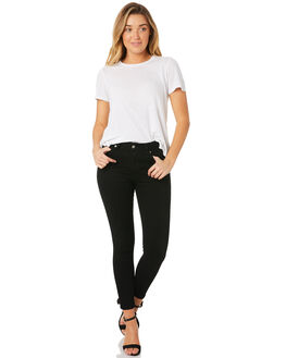 BLACK WOMENS CLOTHING DR DENIM JEANS - 1830102-101
