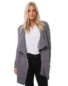 CHARCOAL WOMENS CLOTHING VOLCOM KNITS + CARDIGANS - B0711706CHARCOAL