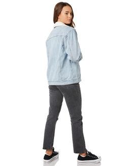 VINTAGE BLUE WOMENS CLOTHING BILLABONG JACKETS - 6595898V11