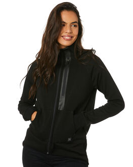 BLACK WOMENS CLOTHING RIP CURL JUMPERS - GFEFN10090