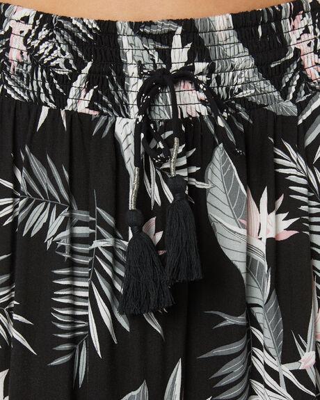 BLACK WOMENS CLOTHING VOLCOM SKIRTS - B1431975BLK