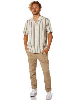 KHAKI MENS CLOTHING KATIN PANTS - PASTA00KHA