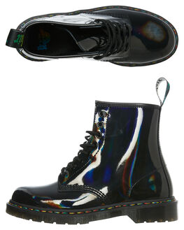 BLACK WOMENS FOOTWEAR DR. MARTENS BOOTS - SS24667001BLKW