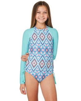 EMERALD BLUE KIDS GIRLS SEAFOLLY SWIMWEAR - 15598EMBLU