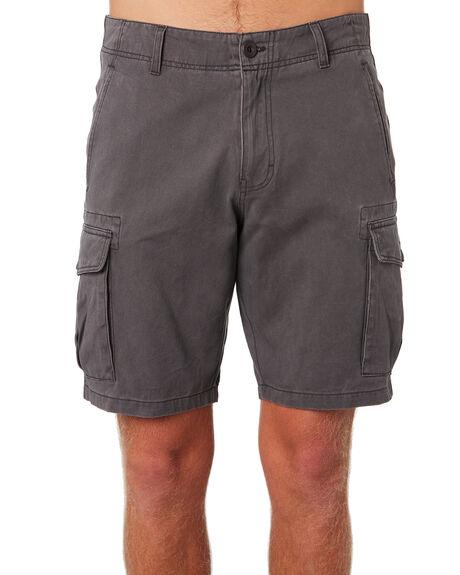 ASH GREY MENS CLOTHING DEPACTUS SHORTS - D5183236ASHGY