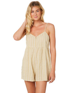 PLANTAIN OUTLET WOMENS RHYTHM PLAYSUITS + OVERALLS - JAN19W-JS01-PLA