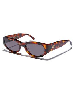 DARK TORTOISE MENS ACCESSORIES CRAP SUNGLASSES - FUNKP302GGDTOR