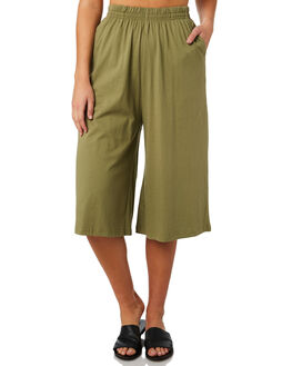 KHAKI WOMENS CLOTHING SILENT THEORY PANTS - 6022008KHAK