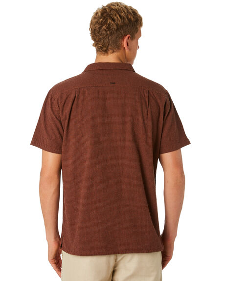 RUST MENS CLOTHING MISFIT SHIRTS - MT092402RUST